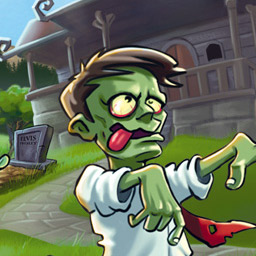 Zombie Solitiare - Play your cards right and you just might escape the zombie apocalypse! - logo